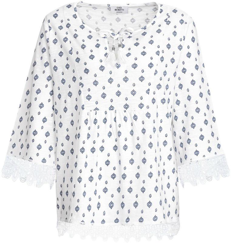 Damen Shirt mit Minimal-Print (Nur online)