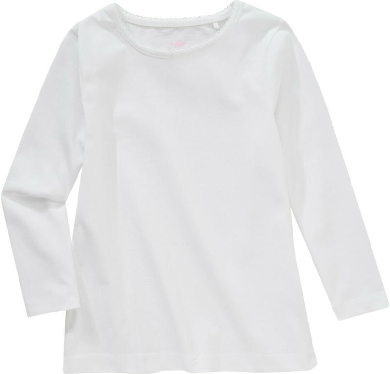 Mädchen Langarmshirt im Basic-Look (Nur online)
