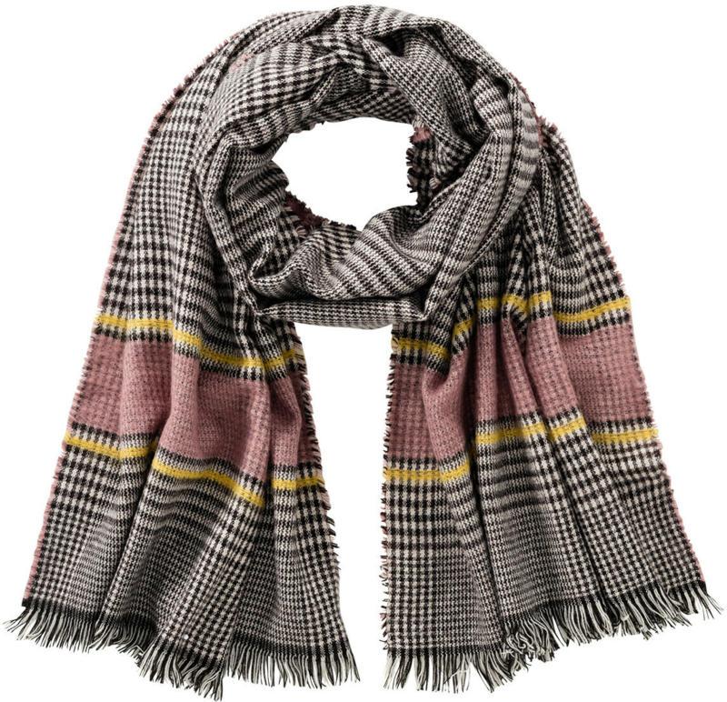 Damen Schal mit Hahnentritt-Muster (Nur online)