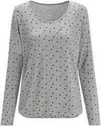 Damen Langarmshirt mit Allover-Print (Nur online)