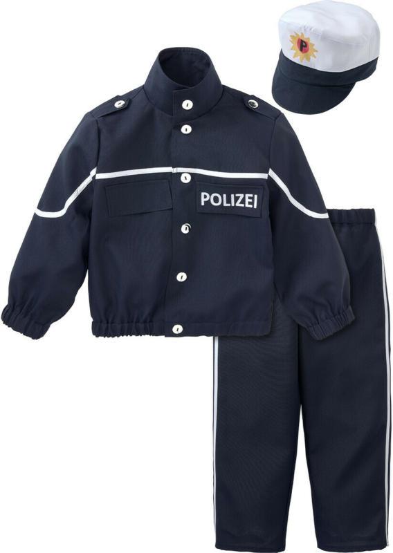 Karnevalskostüm Polizist mit Mütze (Nur online)