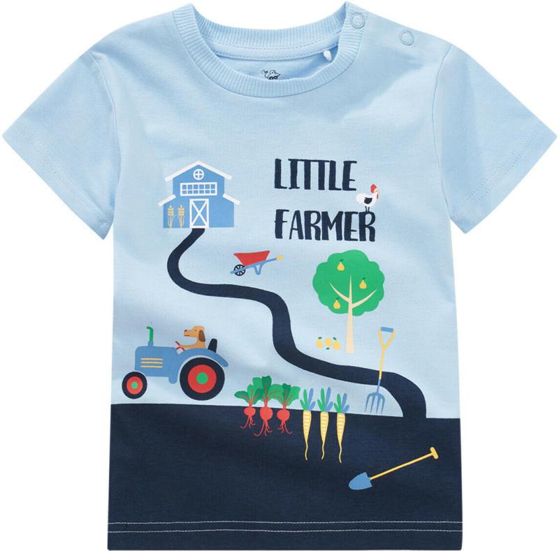 Baby T-Shirt mit Bauernhof-Print (Nur online)