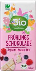 dmBio Frühlingsschokolade Joghurt-Beeren-Mix