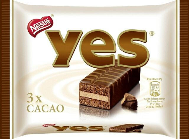 Yes Cacao oder Caramel