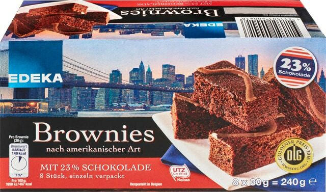 EDEKA Brownies