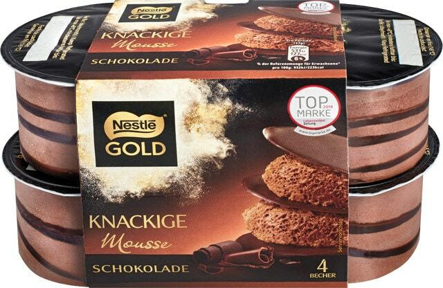 Nestlé Gold Mousse oder After Eight Mousse