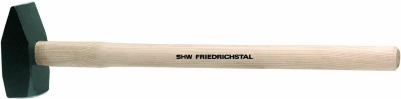 Vorschlaghammer, mit Holzstiel, 4kg 4 kg