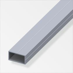 Rechteckrohr, 15,5x27,5mm, 1m, blank 1,55 cm | 100 cm