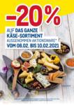 METRO -20% auf das ganze Käse-Sortiment - bis 10.02.2021