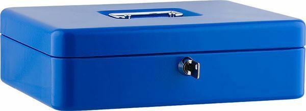"""SAX Geldkassette """"XL"""" 30 x 24 x 9 cm blau"""