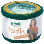 """Pagro GRÜNDL Wolle """"Rosella"""" 200g petrol/gelb/grün"""