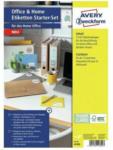 """Pagro AVERY Zweckform Etiketten-Set 15 Bl. für Home Office """"49300"""" mehrere Farben"""