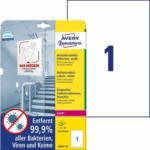 """Pagro AVERY Zweckform Antivirus Etiketten 10 Bl. """"L8001-10"""" 210 x 297 mm weiß"""