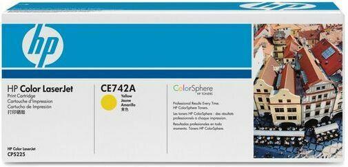 HP Color LJ Cartridge Nr.307A yell. 7,3K