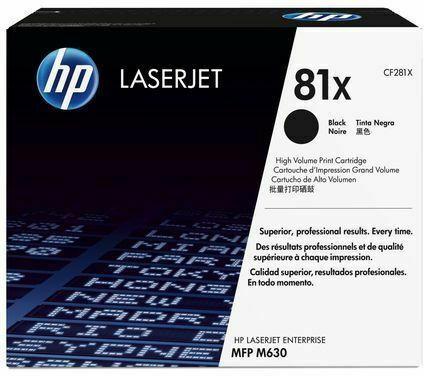 HP LJ Cartridge Nr.81X black 25K