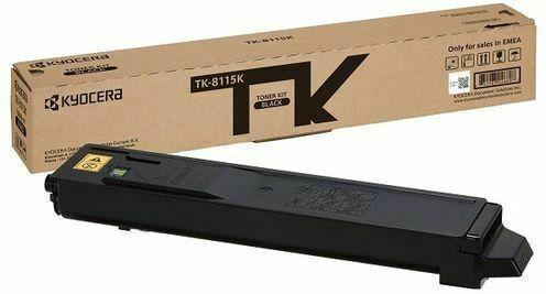 Kyocera Toner TK-8115K black 12K
