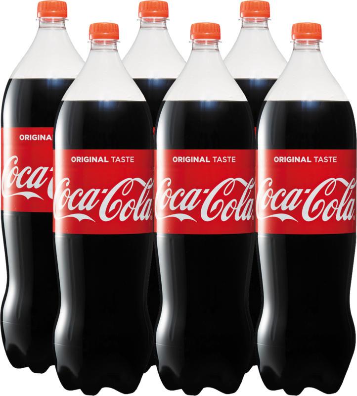 Coca-Cola Classic, 6 x 2 litri