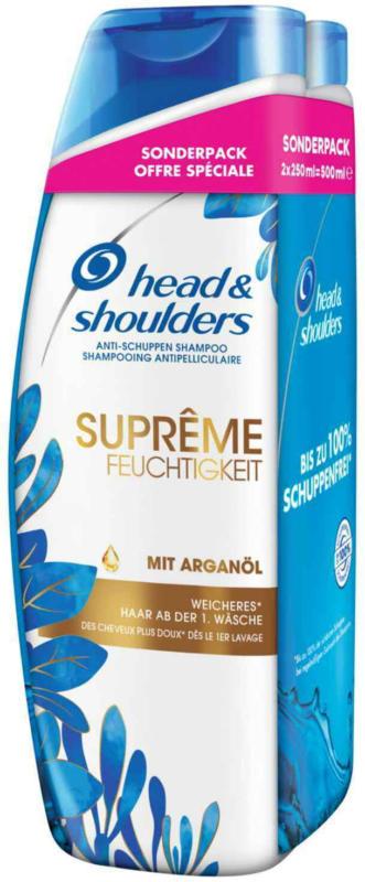 Head & Shoulders Shampoo Anti-Schuppen Supreme Moisture 2 x 250 ml -