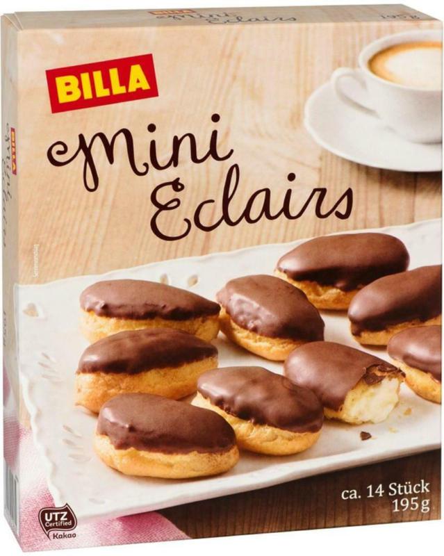 BILLA Mini Eclairs