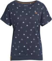 Damen T-Shirt im Marine-Look (Nur online)