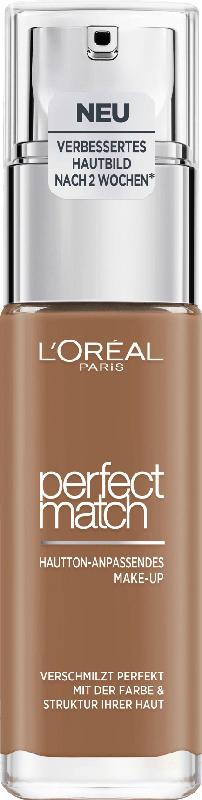 L'ORÉAL PARIS Make-up Perfect Match Hautton-Anpassendes Make-Up 9.5D/9.5W Mahogany