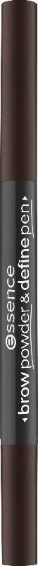 essence cosmetics Augenbrauenstift brow powder & define pen deep brown 04