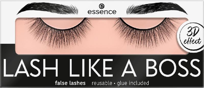 essence cosmetics Künstliche Wimpern LASH LIKE A BOSS false lashes Unique 03