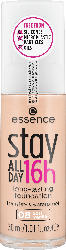 essence cosmetics Make-up stay ALL DAY 16h long-lasting Foundation Soft Vanilla 08