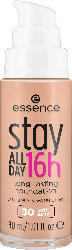 essence cosmetics Make-up stay ALL DAY 16h long-lasting Foundation Soft Sand 30