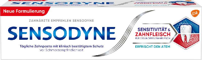Sensodyne Zahncreme Sensitivität & Zahnfleisch