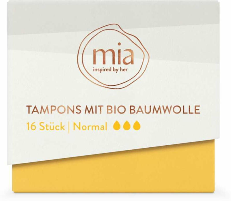 mia Tampons normal
