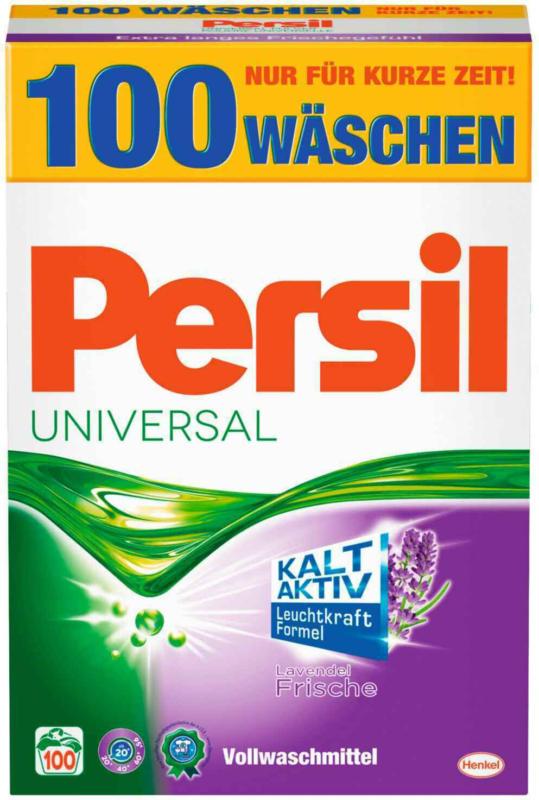 Persil Lessive en poudre Universal Lavande fraîche 6,5 kg 100 lessives -