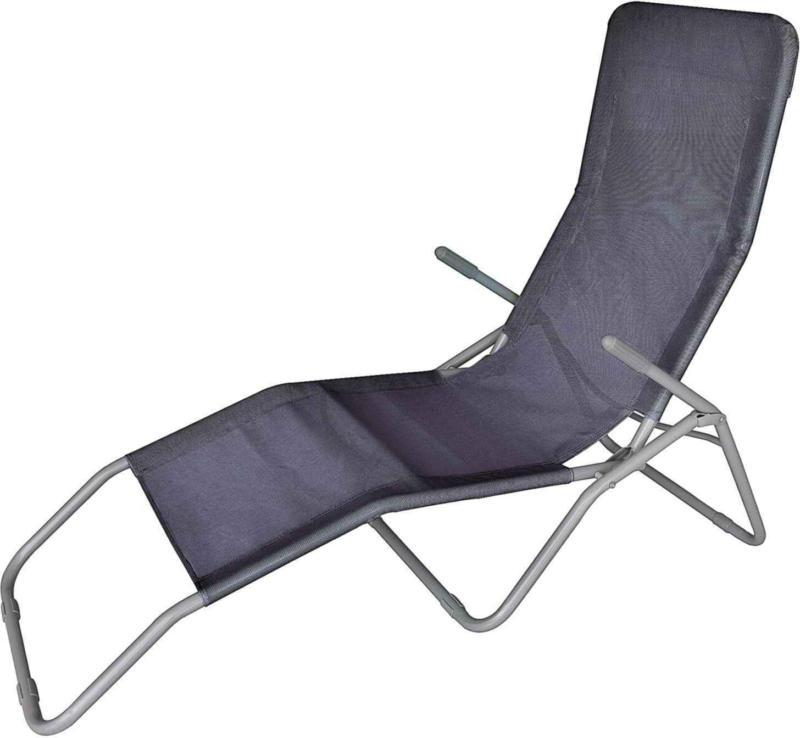 Chaise longue Lecce gris -