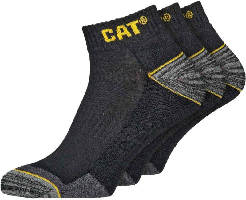 CAT Socquettes de travail, lot de 3 paires -