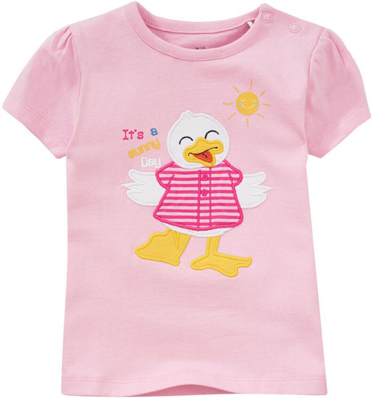 Baby T-Shirt mit Entchen-Applikation (Nur online)