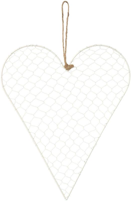 Großer Deko-Hänger in Herzform (Nur online)