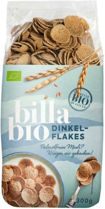 BILLA Bio Dinkelflakes