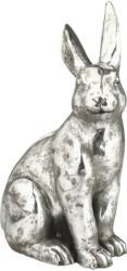 Großer Deko-Hase in Silber-Optik (Nur online)
