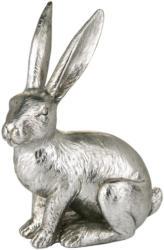 Großer Deko-Hase in Silber (Nur online)