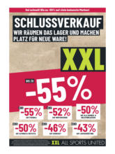 XXL Sports & Outdoor Flugblatt