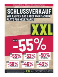 XXL Sports & Outdoor Flugblatt