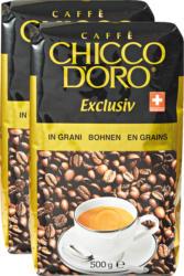 Chicco d'Oro Kaffee Exclusiv, Bohnen, 2 x 500 g