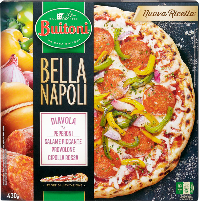 Pizza Bella Napoli Diavola Buitoni, 430 g
