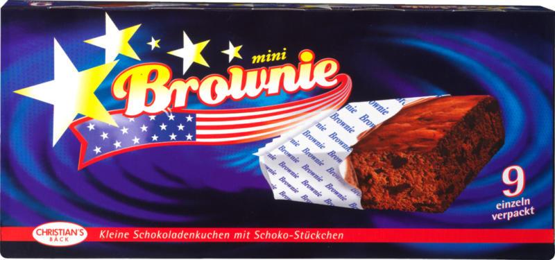 Christian's Bäck Mini Brownie, 9 pezzi, 270 g