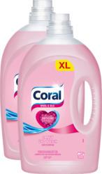 Coral Flüssigwaschmitte Wolle & Seide, 2 x 50 Waschgänge, 2 x 2,5 Liter