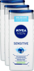 Douche de Soin Sensitive Nivea , 3 x 250 ml