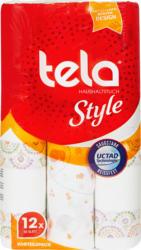 Papier de ménage Tela , Style, 2 couches, 12 x 50 feuilles