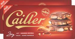 Tavoletta di cioccolata al latte Cailler, Mandorle croccanti, 2 x 200 g