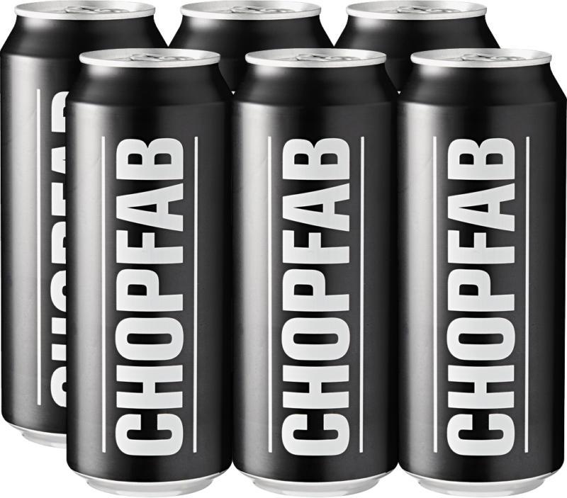 Chopfab Draft Bier, 6 x 50 cl