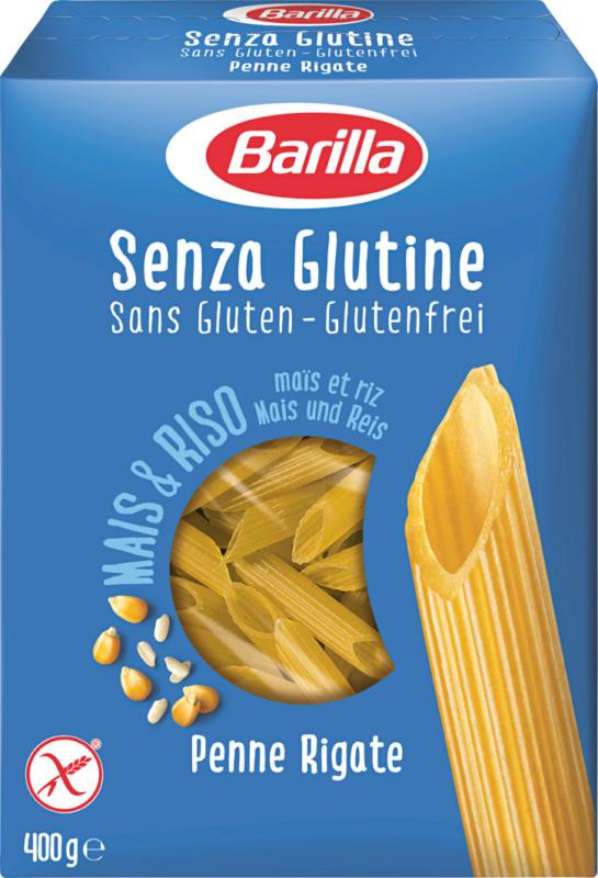 Barilla Penne rigate, sans gluten, 400 g